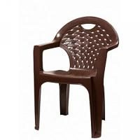 Кресло, цвет: коричневый