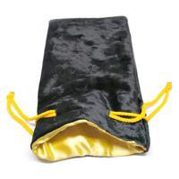 """Мешочек для хранения """"Макс"""", 11x19,5 см, цвет: жёлтый, черный"""
