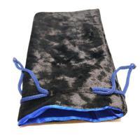 """Мешочек для хранения """"Макс"""", 11x19,5 см, цвет: синий, черный"""