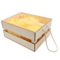 """Наборы для оформления подарка """"Деревянный ящик с наполнением №9"""", 20x25 см"""