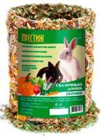 """Лакомство для кроликов Престиж """"Сказочный домик"""", 450 г"""