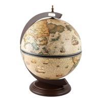 """Глобус-бар Brigant """"Сокровища древнего мира"""", 41x41x56 см"""