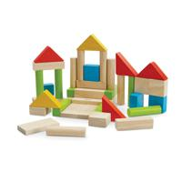 """Кубики цветные """"Plan Toys"""", 40 штук"""