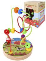 """Деревянная игрушка """"Лабиринт-8"""", 14х10 см"""