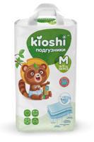 Подгузники KIOSHI, M (6-11 кг), 54 штуки