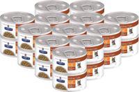 """Набор консервов диетических для кошек Hill's """"K/D"""", лечение заболеваний почек, рагу с курицей и овощами (24 штуки по 82 грамма) (количество товаров в комплекте: 24)"""
