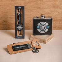 """Подарочный набор из ручки и брелка на ключи """"Суперколлега"""""""