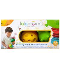 """Игрушка развивающая """"Lalaboom"""", 2 тактильных шара (12 деталей в комплекте)"""