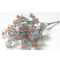 """Цветы искусственные """"Букет Гипсофила"""", 32 см, 7 веток, цвет оранжевый"""