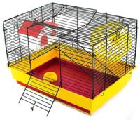 """Клетка для мелких грызунов Дарэлл """"Саша"""" (мини), с комплектацией, 41х30х27 см"""