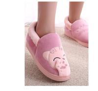 """Тапочки с задником FunFur """"Кот розовый"""", размер: 40-41, цвет: розовый"""