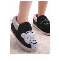 """Тапочки с задником FunFur """"Кот серый"""", размер: 44-45, цвет: черный"""