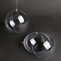 "Шар пластиковый прозрачный половинками ""Magic 4 Hobby"", 160 мм"