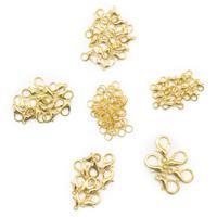 Набор фурнитуры для украшений, цвет золото (арт. NIT020)