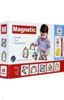 """Магнитный конструктор """"Magnetic"""", 40 элементов"""