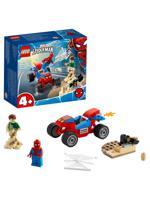 """Конструктор LEGO """"Super Heroes. Бой Человека-Паука с Песочным Человеком"""", 45 пэлементов"""