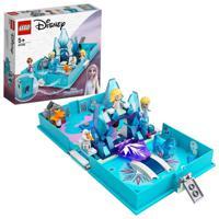 """Конструктор LEGO """"Disney Princess. Книга сказочных приключений Эльзы и Нока"""", 125 элементов"""