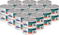 """Набор консервов диетических для кошек Hill's """"W/D"""", при поддержании веса и сахарном диабете, с курицей (24 штуки по 156 грамм) (количество товаров в комплекте: 24)"""