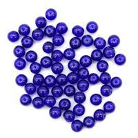"""Бусины стеклянные """"Candy"""", 8 мм, цвет: 10 синий, 50 штук, арт. 4AR351"""