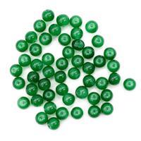 "Бусины стеклянные ""Candy"", 8 мм, цвет: 26 зеленый, 50 штук, арт. 4AR351"