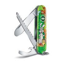 "Нож перочинный ""Victorinox My First Victorinox Rabbit Edition"", 84 мм, 9 функций, арт. 0.2373.E2"