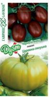 """Семена. Томат """"Царевна-лягушка"""" (вес: 0,05 г) + """"Черный мавр"""" (вес: 0,05 г)"""