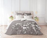 """Комплект постельного белья 1,5-спальный """"Verossa. Iris"""" (перкаль), с наволочками 50х70 см"""