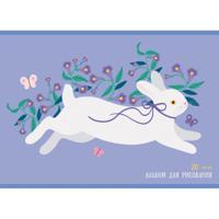"""Альбом для рисования """"Белый кролик"""", 40 листов"""