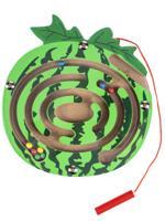 """Деревянная игрушка """"Лабиринт с шариками. Арбуз"""", 14х15 см"""