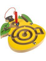 """Деревянная игрушка """"Лабиринт с шариками. Груша"""", 12х15 см"""