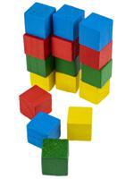 """Деревянная игрушка """"Конструктор. Цветные фигуры"""", 8х12 см"""