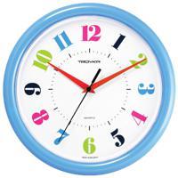 "Часы настенные ""Troyka 21241215"", 30x30x5 см, синяя рамка"