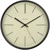 "Часы настенные ""Troyka 77770742"", 30x30x5 см, черная рамка"