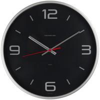 "Часы настенные ""Troyka 77777751"", 30x30x5 см, серебристая рамка"