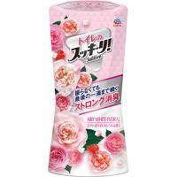 """Жидкий дезодорант-ароматизатор для туалета Earth """"Sukki-ri! Белые цветы"""" с цветочным ароматом, 400 мл"""