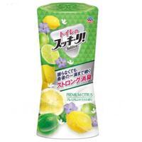 """Жидкий дезодорант-ароматизатор для туалета Earth """"Sukki-ri! Премиальный цитрус"""" с фруктовым ароматом, 400 мл"""