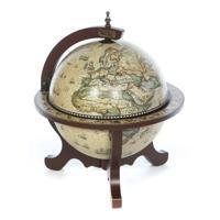 """Глобус-бар Brigant """"Сокровища древнего мира"""", 45x45x59 см, арт. 347251"""
