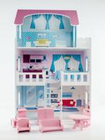 """Кукольный дом """"Пастила"""", с интерьером и мебель"""