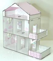 """Кукольный дом без мебели """"Doll Style"""""""