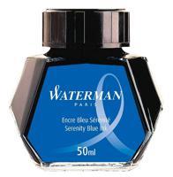 """Флакон с чернилами """"Waterman Ink Bottle Blue sea"""" для перьевых ручек"""