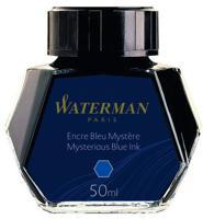 """Флакон с чернилами """"Waterman Ink Bottle Blue/Dark"""" для перьевых ручек"""