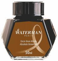 """Флакон с чернилами """"Waterman Ink Bottle Brown"""" для перьевых ручек"""
