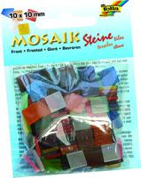 """Мозаика """"Замороженное стекло"""", 10х10 мм, 190 штук, ассорти из 20 цветов"""