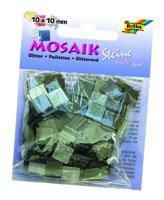"""Мозаика """"Тонированная с блестками"""", 10х10 мм, 190 штук, оттенки серого"""