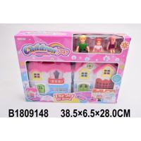 Дом для кукол, с фигурками и аксессуарами