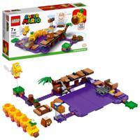 """Конструктор LEGO Super Mario. Дополнительный набор """"Ядовитое болото егозы"""", 374 элемента"""