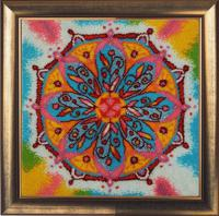 "Набор для вышивания бисером Butterfly ""Мандала благополучия"", 27х27 см, арт. 133"