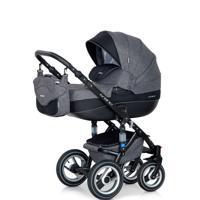 """Детская коляска 2 в 1 """"Bruno"""", цвет серый, графит"""