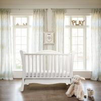 Кровать Fiorellino Alpina, 120х60 см, цвет: white