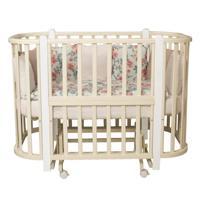 Кровать детская Incanto Nuvola 3 в 1 (цвет: слоновая кость/белый)